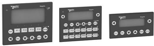 ZELIO LOGIC Schneder Electric displays monitory
